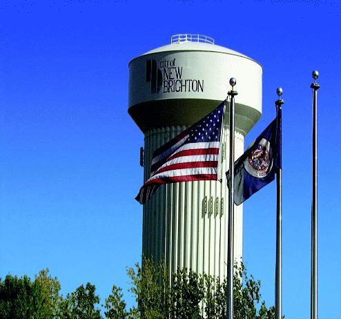 City of New Brightom Water Tower